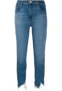 J Brand Calça Jeans Cintura Alta - Azul