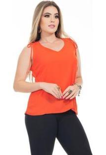 Blusa Clara Arruda Alça Dupla 20618 - Feminino