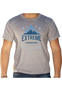 Camiseta Masculina Eco Canyon Extreme Expedition Cinza