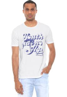 Camiseta Calvin Klein Jeans Youth Has No Age Branca