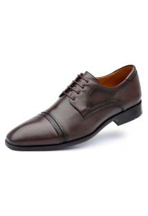Derby Jacometti Cap Toe Café 4815