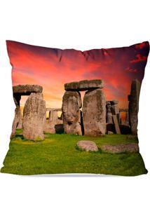 Almofada Avulsa Decorativa Pedras