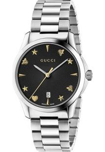 Relógio Digital Aco Gucci feminino   Shoelover 561eb8e4b9