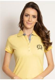 Camisa Polo Aleatory Piquet Lisa Candy Feminina - Feminino