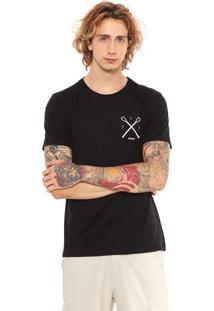 Camiseta Redley Silk Waves Preta