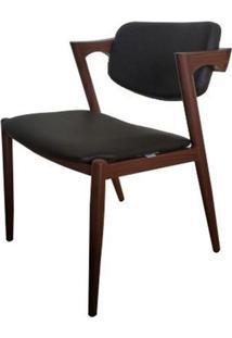 Cadeira Estoclomo Madeira Escura 72 Cm (Alt) - 47556 - Sun House