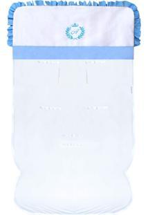Capa De Carrinho Padroeira Baby Feito A Mão Azul