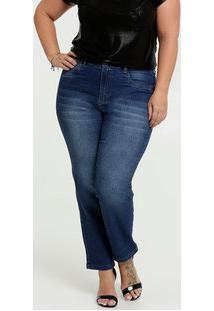 Calça Jeans Feminina Cigarrete Plus Size Marisa