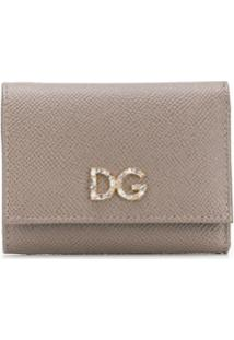 Dolce & Gabbana Carteira Continental - Neutro