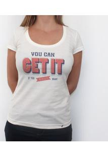 Get It - Camiseta Clássica Feminina