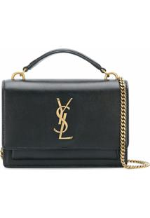 Saint Laurent Bolsa Tiracolo Sunset - Preto