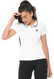 ... Camisa Polo Fila Fusion Branca 9893b44af32f8