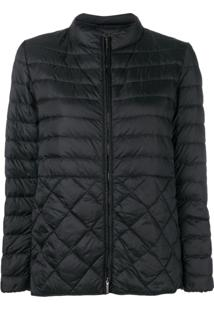 Max Mara Quilted Puffer Jacket - Preto