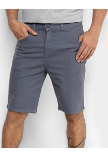 Bermuda Jeans Quiksilver Street Color Masculina - Masculino