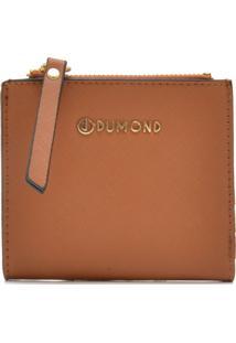 Carteira Dumond Logo Caramelo