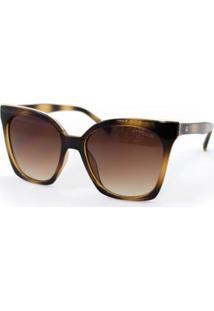 Óculos De Sol Atitude At5425 A01 Feminino - Feminino-Marrom