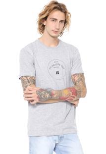 Camiseta Hang Loose Paradise Cinza