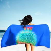 82aee0e19c Toalha De Praia   Banho Cacto Blue
