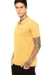 Camisa Polo Oakley Cross Slim Caramelo