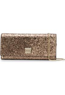 Jimmy Choo Lilia Clutch Bag - Marrom
