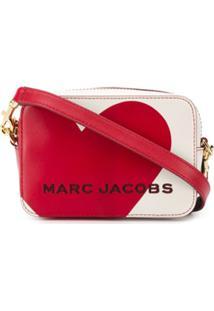 Marc Jacobs Heart Logo Crossbody Bag - Neutro