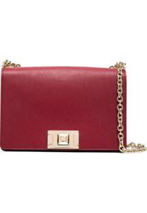 Furla Square-Shape Crossbody Bag - Vermelho