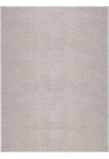Tapete Chevron- Cinza Claro & Off White- 350X250Cm