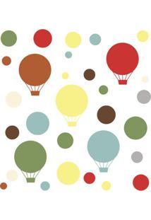 Adesivo De Parede Decorativo Balões Coloridos - Skip Hop