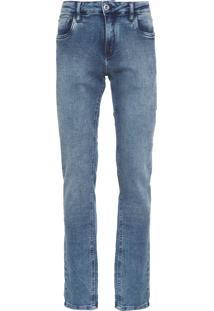 Calça Masculina Jeans Comfort Marmoriz - Azul