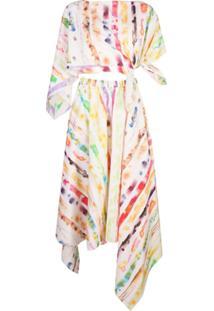 Rosie Assoulin Conjunto 2 Peças Tie-Dye - Branco