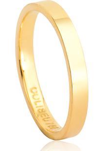 Aliança De Casamento Em Ouro 18K 2,5Mm