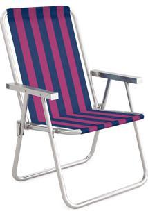 Cadeira Alta Conforto Alumínio 2234 Mor
