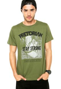 Camiseta Pretorian Stay Strong Verde