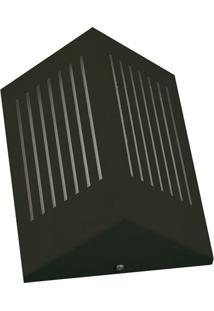 Arandela Triangular Com Rasgo Horizontal 6134 12X09X23 1 Lâmpada Verde Pantoja&Carmona