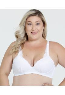 25855eccf ... Sutiã Feminino Com Base Renda Plus Size Marisa
