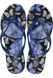 Sandália Feminina Capricho Butterfly Style
