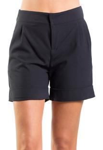 Shorts Alphorria Alfaiataria Preto