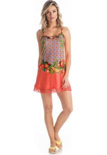 Camisola Camila Orange/P