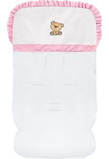 Capa De Carrinho Padroeira Baby Coleção Ursa Carinho Rosa
