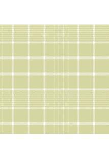 Papel De Parede Coleção Bim Bum Bam Verde Branco Xadrez 2242 Cristiana Masy