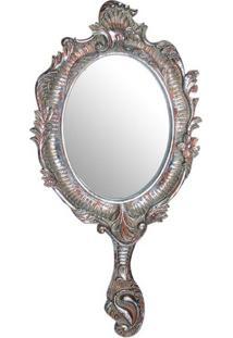 Espelho Parede Rainha Ouro 48X23X2Cm Trevisan Concept