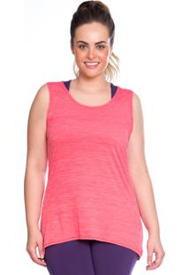 Regata Plus Rosa Active - 553.821P Marcyn Active Camisetas Fitness Rosa