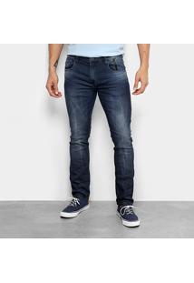 Calça Jeans Skinny Ellus 2Nd Floor Masculina - Masculino-Azul