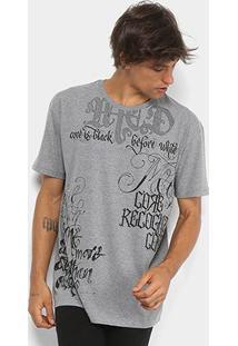 Camiseta Mcd Box Full Lettering Masculina - Masculino