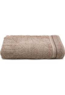 Toalha De Banho Karsten Gigante Calli Taupe 86 X 150