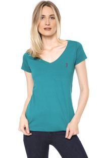 Camiseta Aleatory Básica Verde