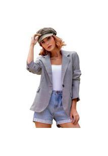 Blazer Max Neon Blush Coisas De Carolina Alfaiataria Xadrez
