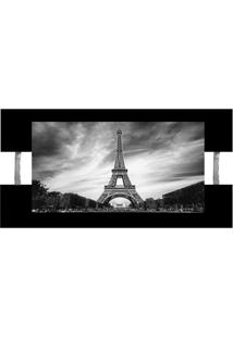Quadro Paris Preto 60X115Cm