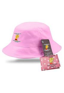 Chapéu Bucket Lisa Simpson Com Carteira Personalizada