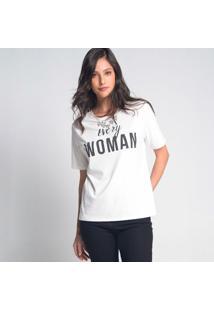 Camiseta Colar Woman Off-White - G